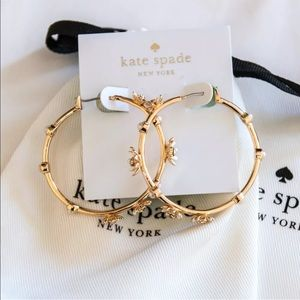 NWT ♠️Kate Spade♠️ Loves Me Loves Me Not Earrings